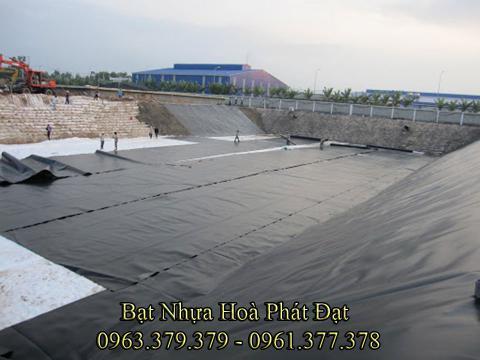 Báo giá màng (bạt) chống thấm HDPE lót ao tôm, hồ tôm loại 0.3mm, 0.5mm giá rẻ