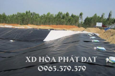 Bảng giá bán lẻ bạt lót hồ chứa nước, bạt nhựa chống thấm hồ nước HDPE giá rẻ
