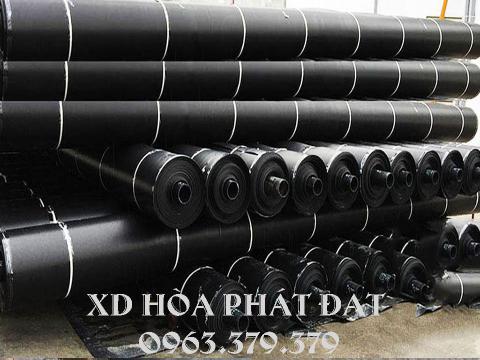 Màng chống thấm HDPE, báo giá bạt nhựa đen HDPE dày 0.3mm, 0.5mm đến 2mm giá rẻ